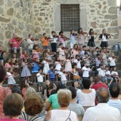 Concierto en la plaza de Jarandilla