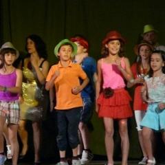 Actuación baile infantil
