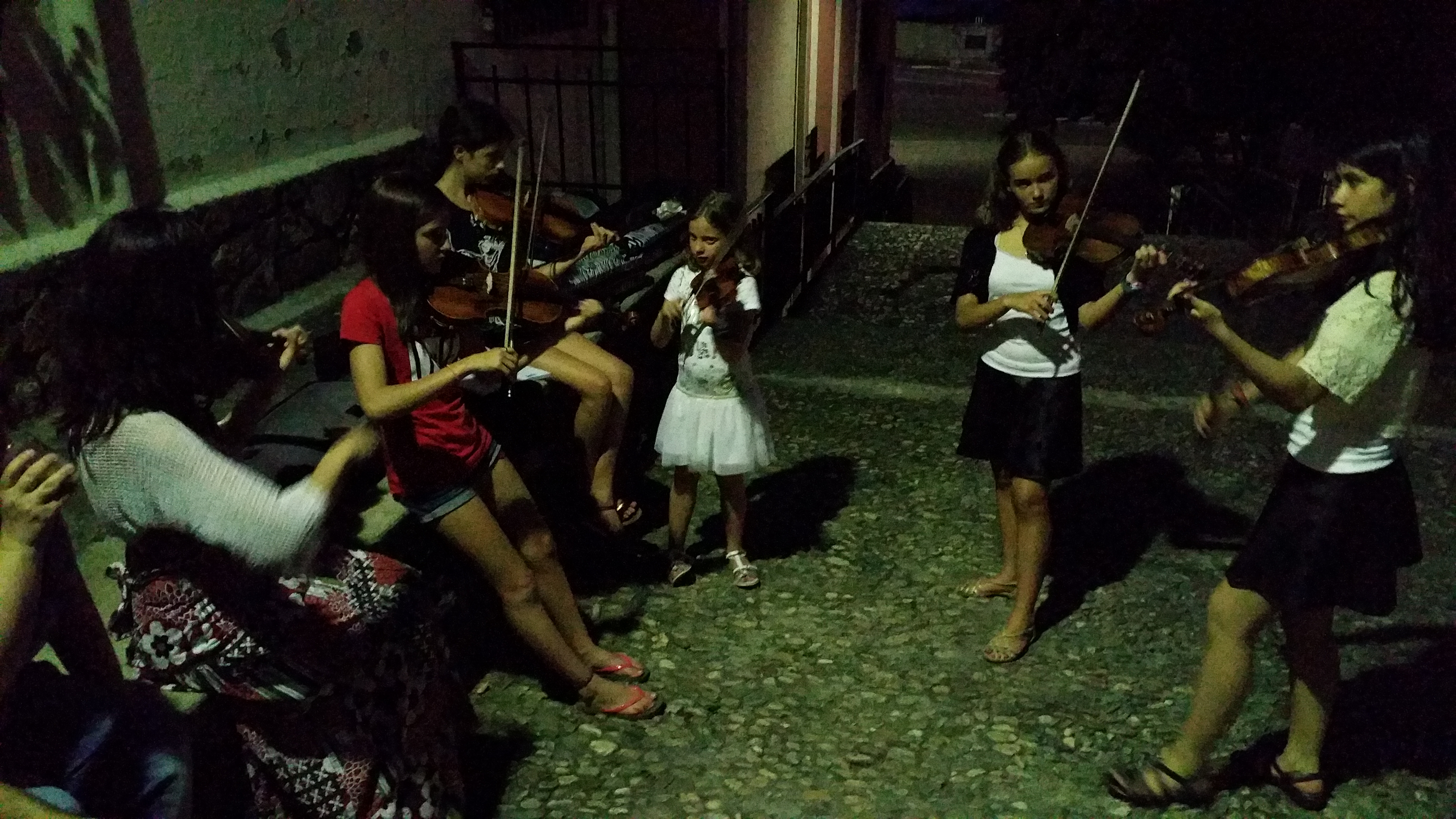 Violinada nocturna